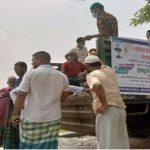 রুপগঞ্জে রংধনু গ্রুপের উদ্দ্যোগে মানুষের পাশে পণ্যভর্তি মানবতার গাড়ি